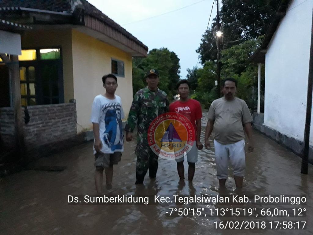 Banjir Desa Sumberkelidung, Tegalsiwalan