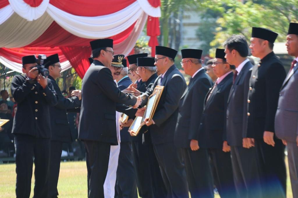 DUA Penghargaan Terbaik Tingkat Provinsi Jawa Timur di Raih BPBD Kabupaten Probolinggo