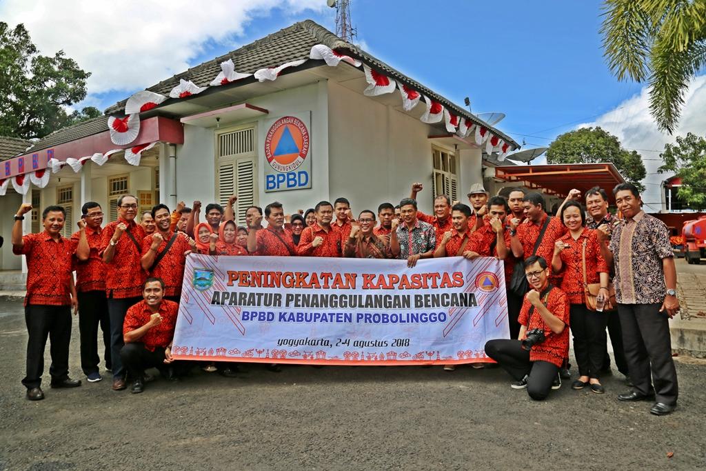 KUNJUNGAN KERJA  Ke – BPBD Kabupaten Gunung Kidul, DIY