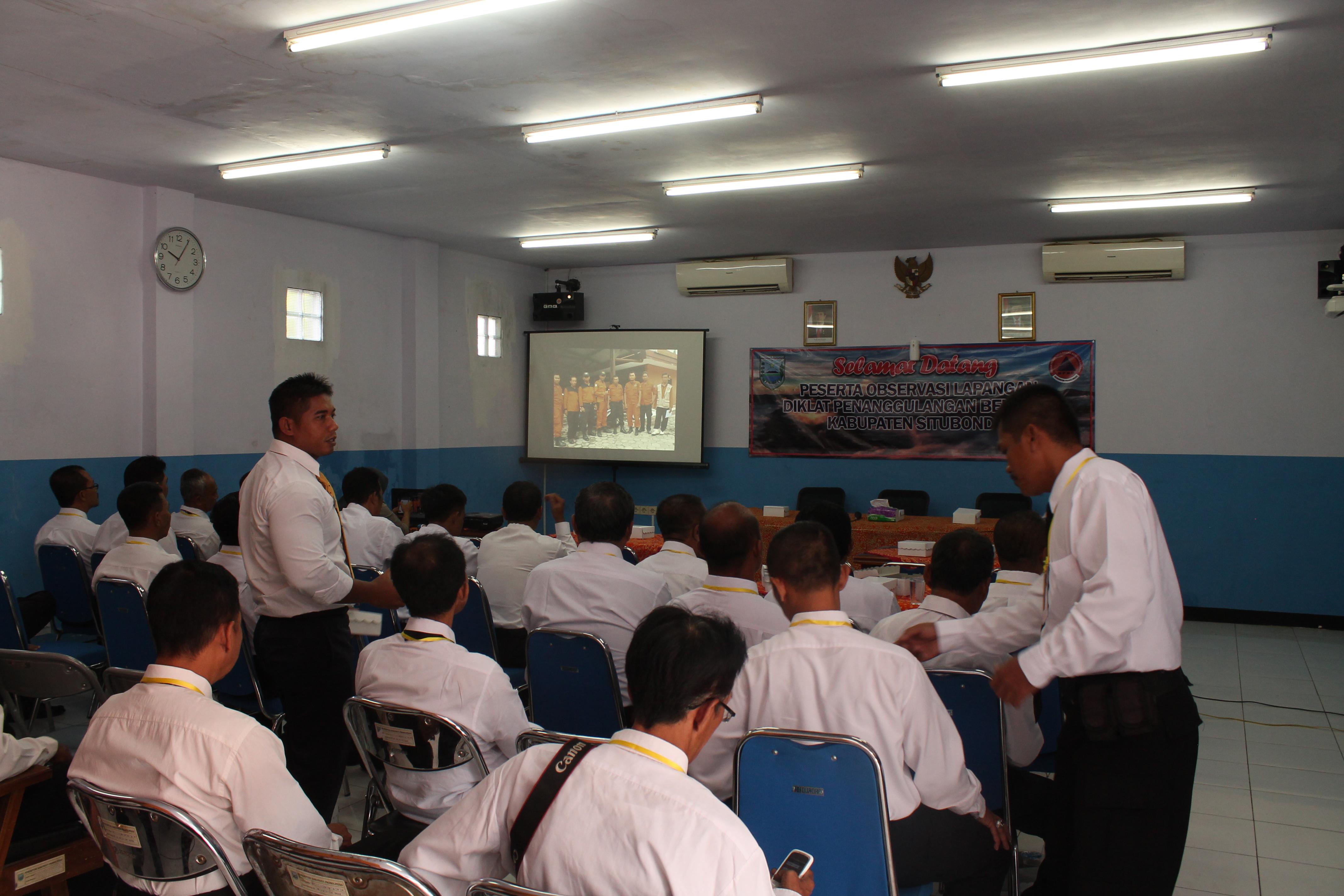 Observasi Lapangan Penanggulangan Bencana Kabupaten Situbondo